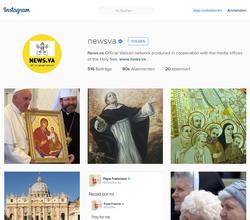franciscus: Der Papst ist ab Samstag bei Instagram